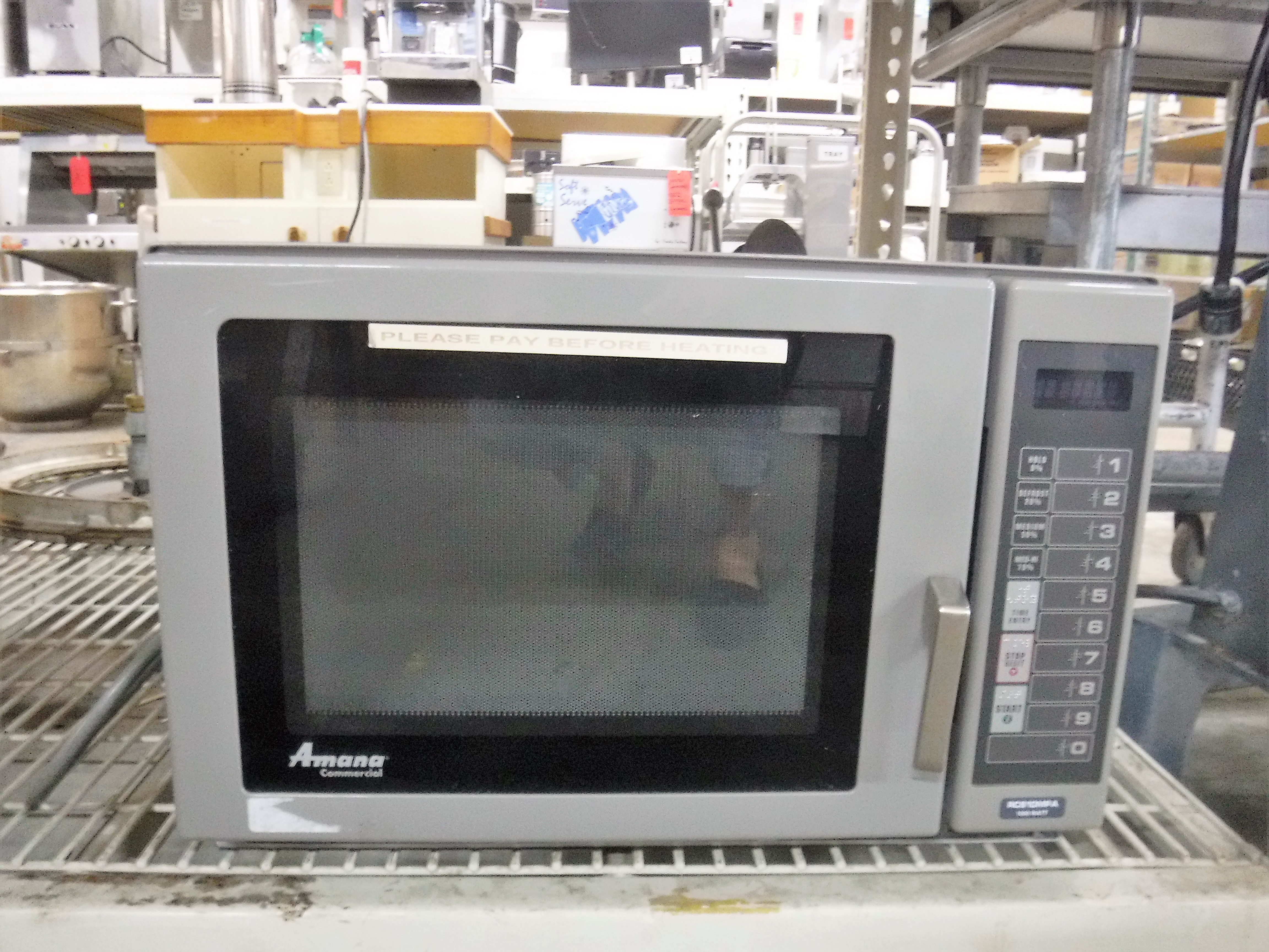 Amana Rcs10mpa Commerical Microwave Oven 1000 Watt 1 Phase